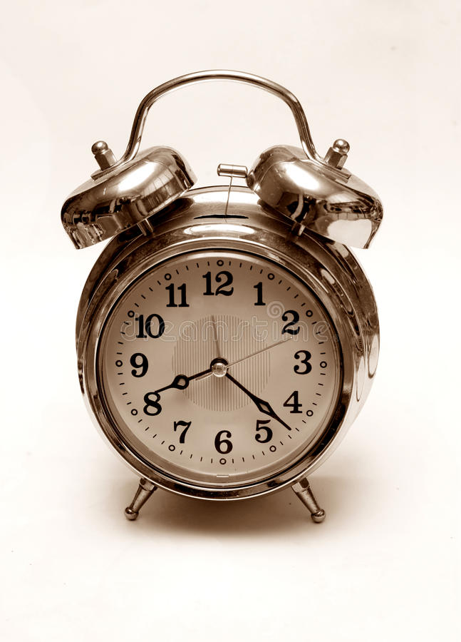 Download Retro alarm clock stock image. Image of alarm, clock - 23306269