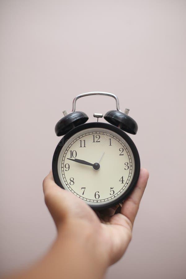 Retro Alarm Clock. stock photography
