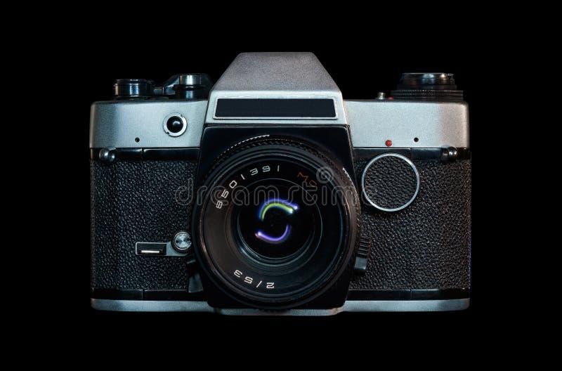 Retro analog camera stock photo