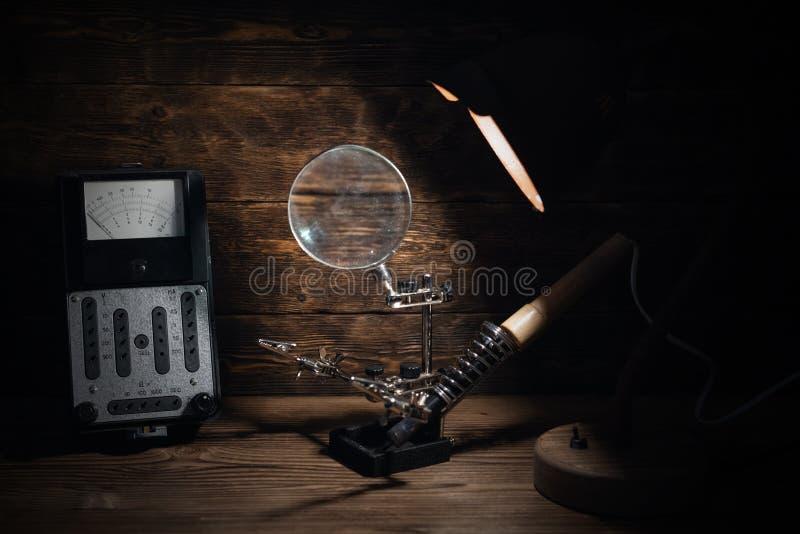 Electrician. stock photos