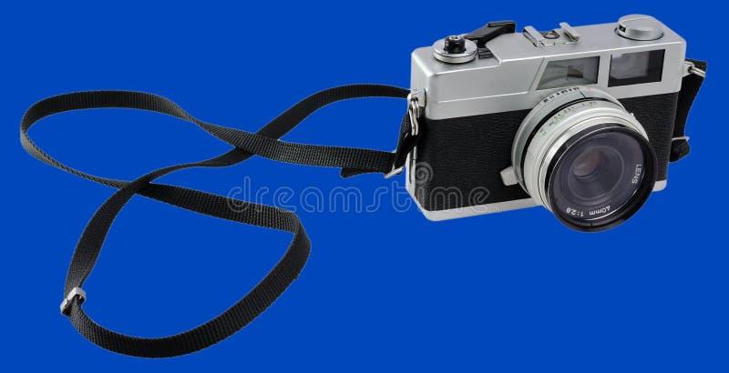 Retro Analogowa fotografii kamera dla 35 mm filmu obrazy royalty free