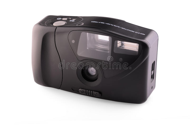 Download Retro Analogue Compact Camera Stock Image - Image: 33990897
