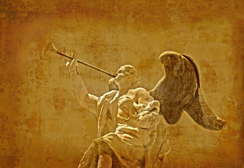 Retro angelo - Venezia fotografie stock libere da diritti