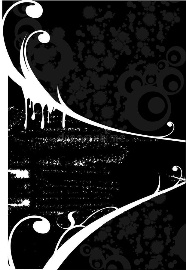 Retro--angeredete Hintergründe stock abbildung
