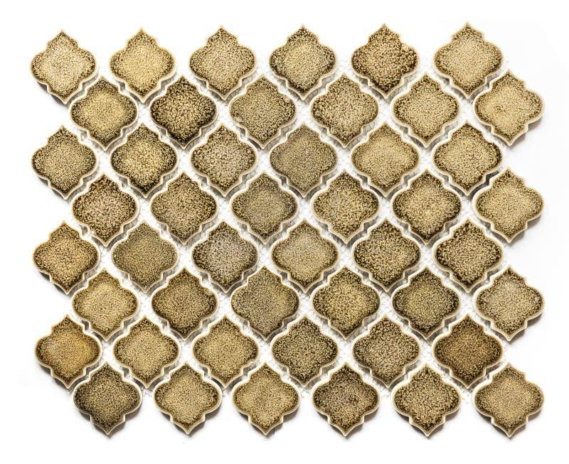 Retro Arabesque-element van de vloertegel royalty-vrije stock foto's