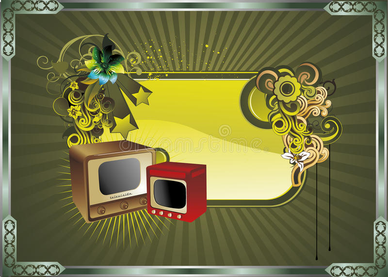 Download Retro Art Composition Illustration Vector Stock Vector - Image: 16454946