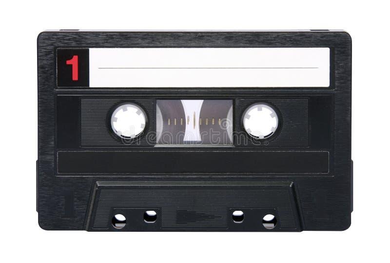 Retro audio geïsoleerde band royalty-vrije stock foto