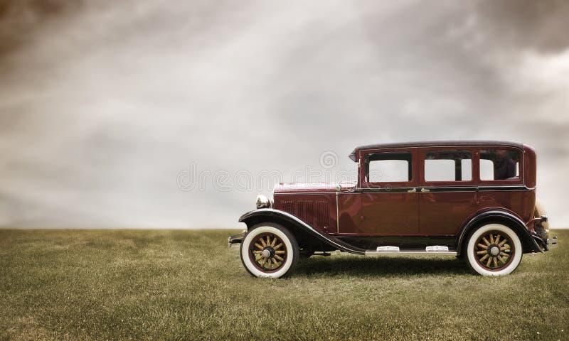Retro- Auto. stockbilder