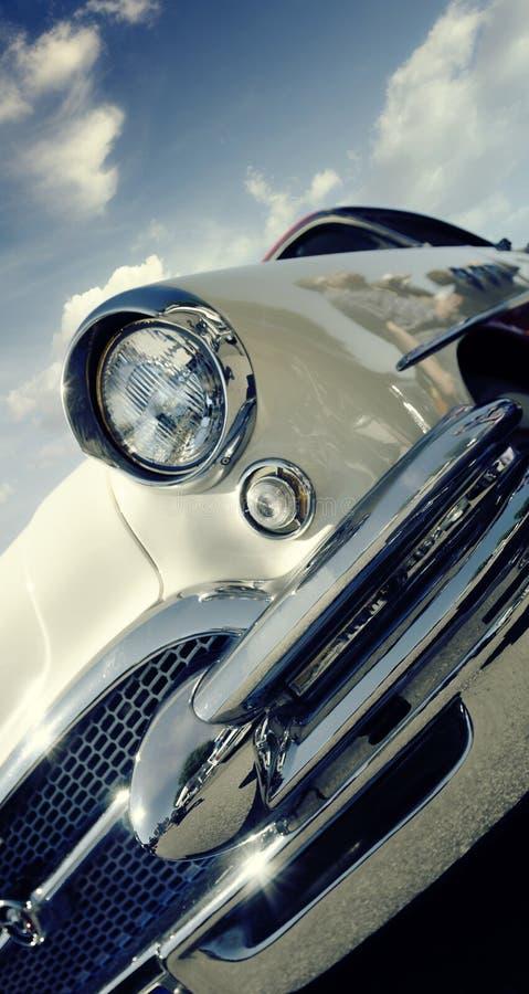Retro auto royalty-vrije stock fotografie