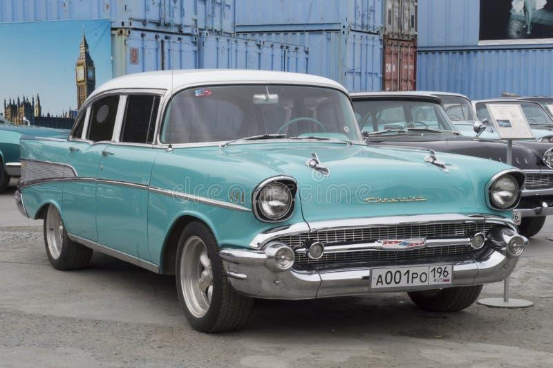 Retro Auto Chevrolet stock foto