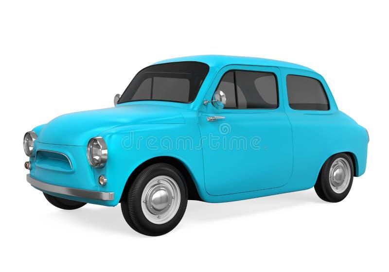 Download Retro- Auto getrennt stock abbildung. Illustration von automobil - 96925222