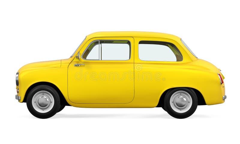 Download Retro- Auto getrennt stock abbildung. Illustration von verkehr - 96925368