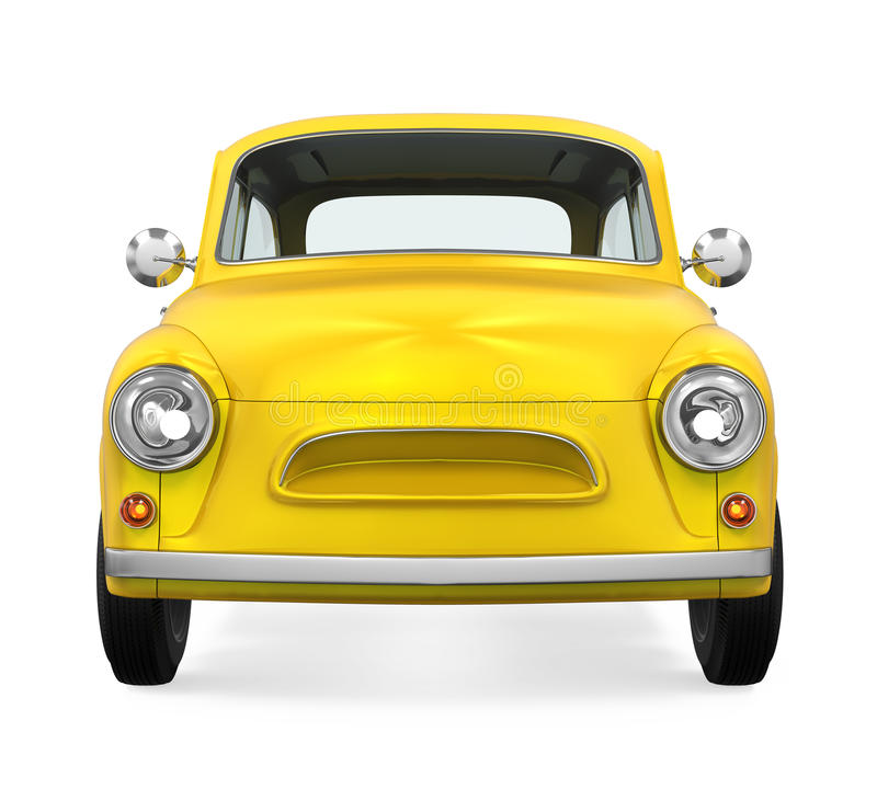 Download Retro- Auto getrennt stock abbildung. Illustration von laufwerk - 96925920