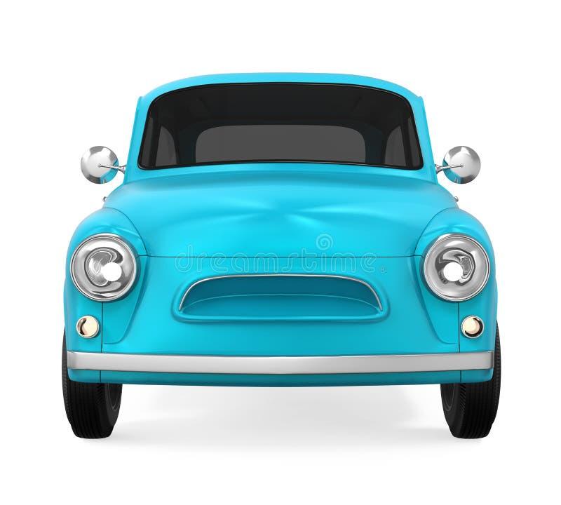 Download Retro- Auto getrennt stock abbildung. Illustration von render - 96926173