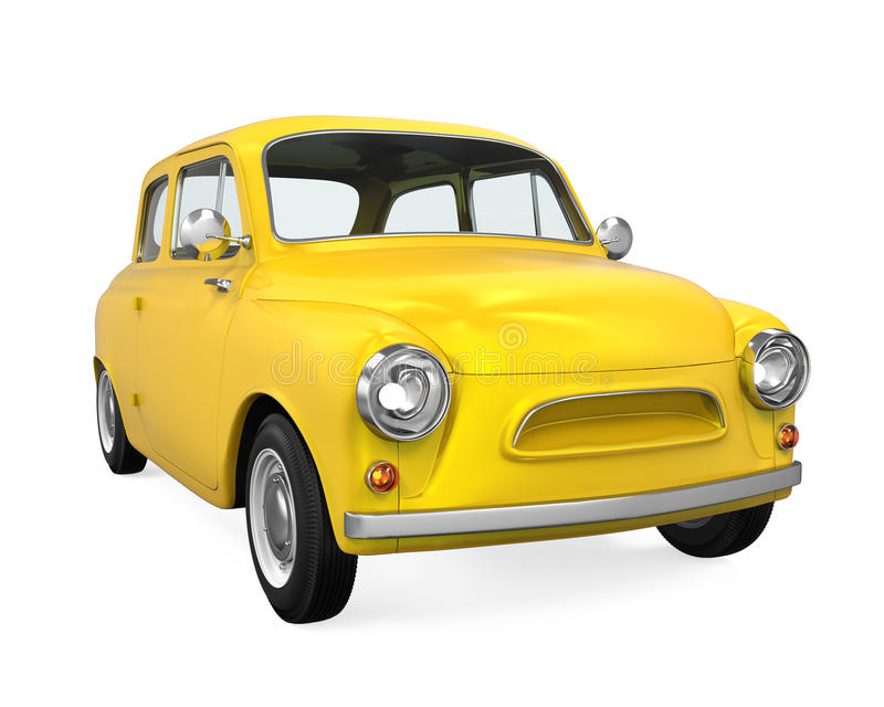 Download Retro- Auto getrennt stock abbildung. Illustration von fahrt - 96926259