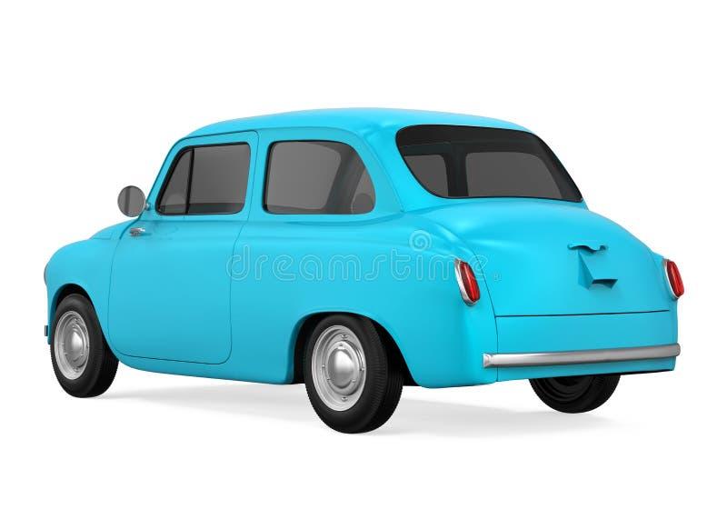Download Retro- Auto getrennt stock abbildung. Illustration von reise - 96926289