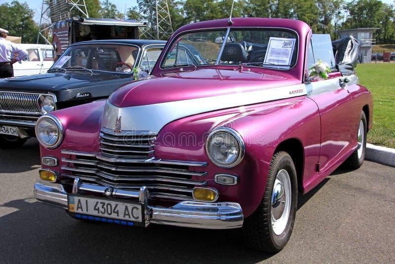Download Retro Auto Show. GAZ M20 Pobeda (Soviet-made Autom Editorial Stock Image - Image: 37456079
