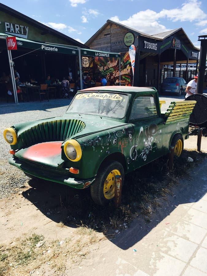 Retro- Automobil stockbild