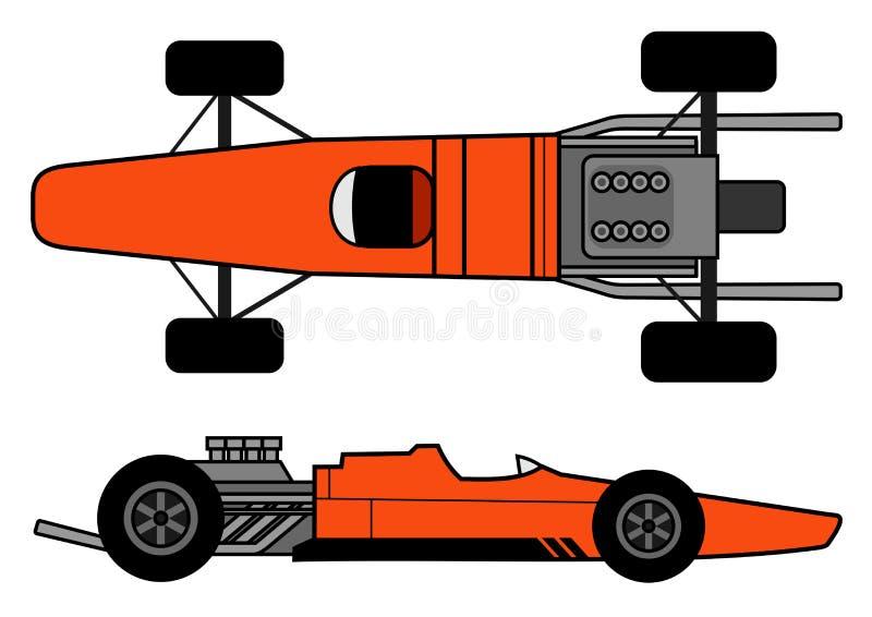 Retro automobile illustrazione di stock