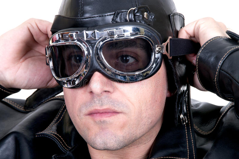 Retro Aviator Stock Photos
