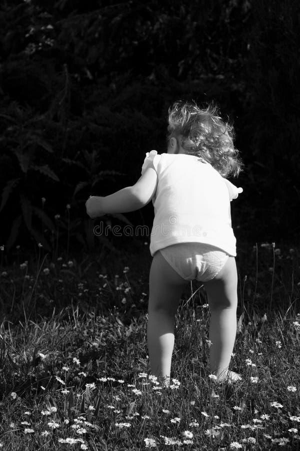 Retro baby royalty-vrije stock fotografie