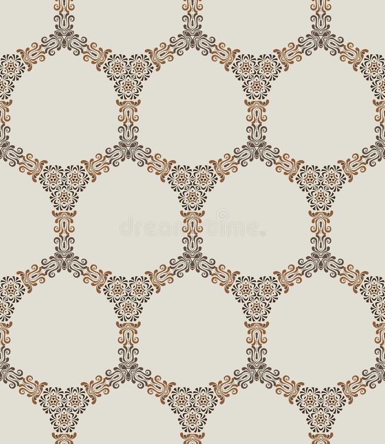 Download Retro background stock vector. Image of baroque, paper - 26030307
