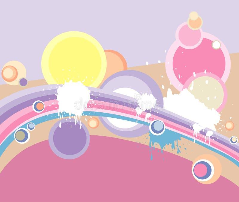 Retro background royalty free illustration