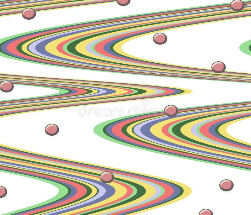 Retro background design stock image