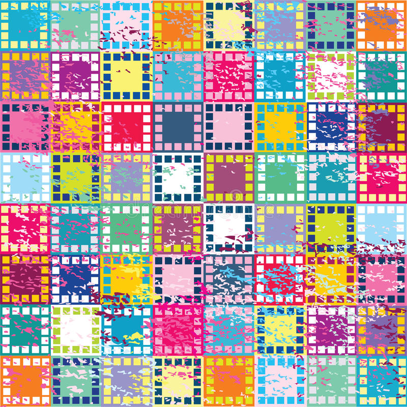 Download Retro Background With Squares Royalty Free Stock Photos - Image: 14091568