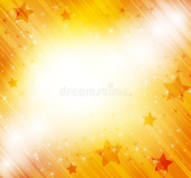 Retro Background With Stars Royalty Free Stock Photos