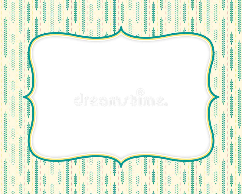 Download Retro Background Template stock vector. Illustration of label - 20760603