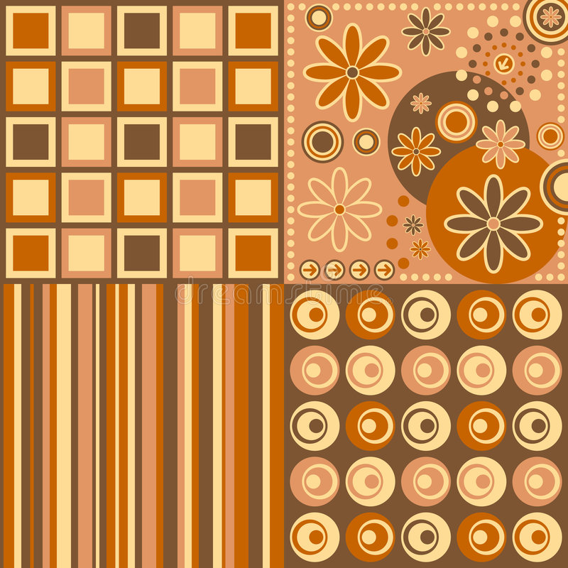 Download Retro Background [Warm Colors] Stock Vector - Image: 4658936