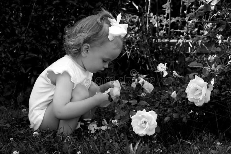Retro bambino fotografie stock
