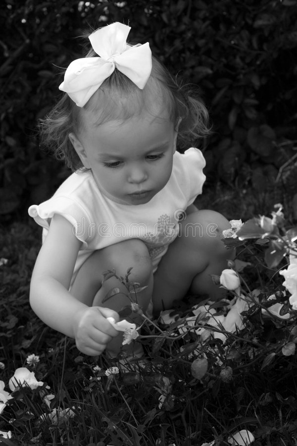 Retro bambino fotografie stock libere da diritti