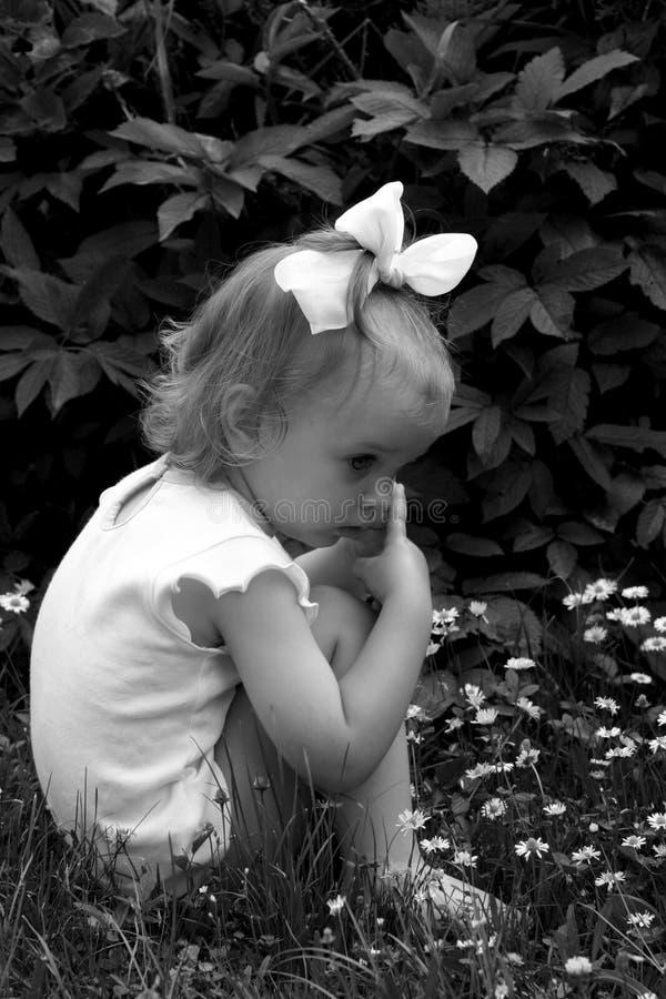 Retro bambino fotografia stock