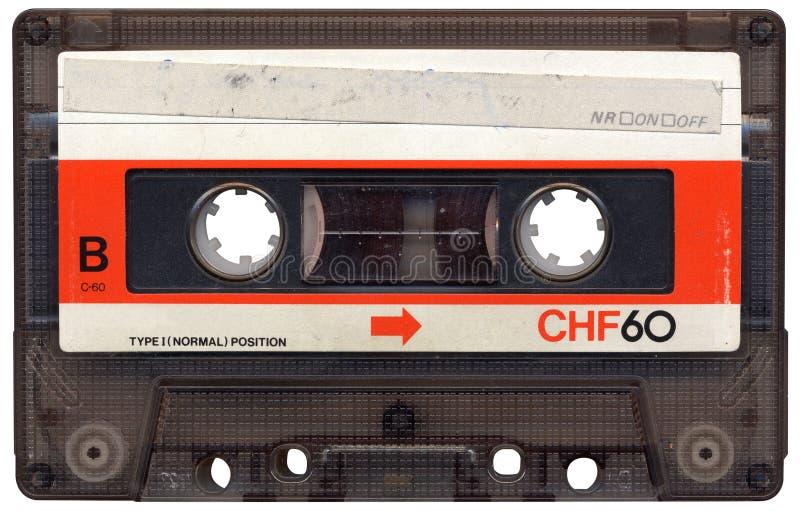 retro band för blank kassett arkivfoton