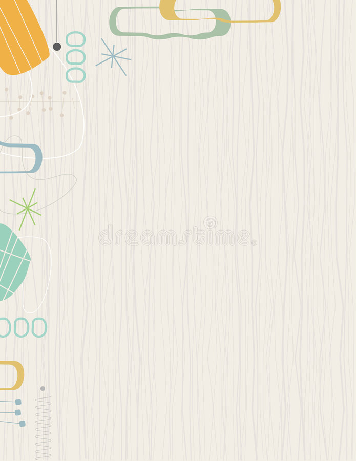 Download Retro Barkcloth Frame Stock Photography - Image: 5801992