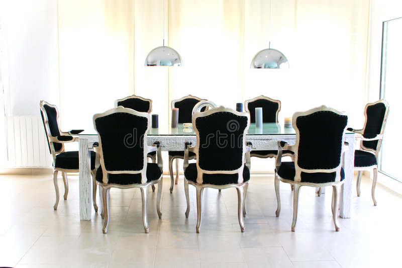 Download Retro Baroque Dinner Table Stock Images - Image: 5555534
