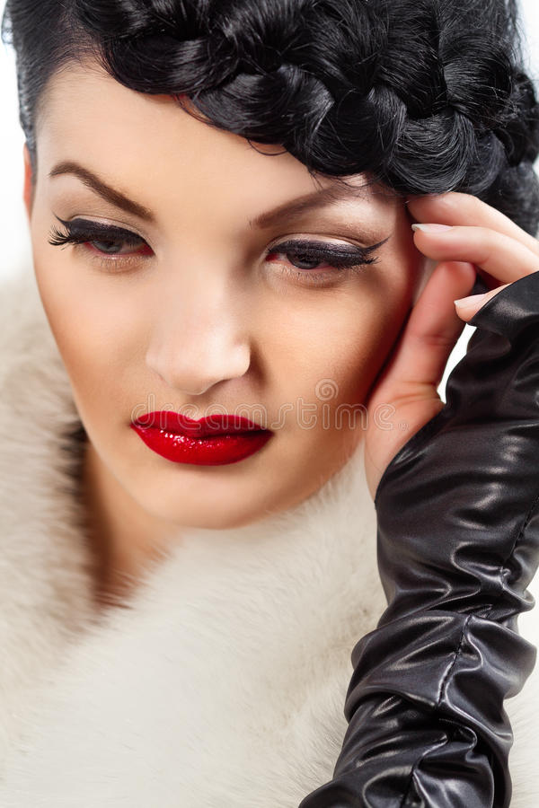 Download Retro Beauty Style Royalty Free Stock Photos - Image: 29293058