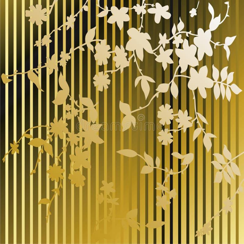 Retro Behang stock illustratie