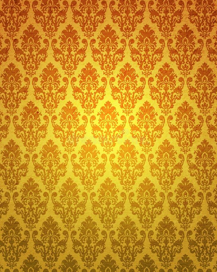 Retro behang vector illustratie