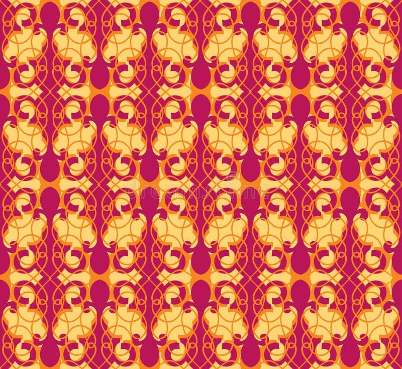 Retro bezszwowa tekstura. Abstrakcjonistyczny tło ilustracji