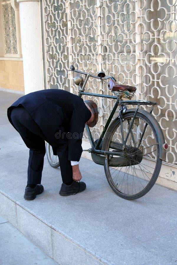 Retro bicicletta fotografia stock