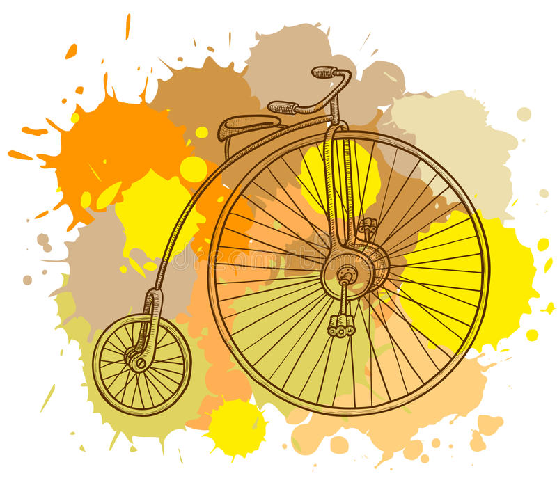 Download Retro Bicycle Stock Image - Image: 15512901