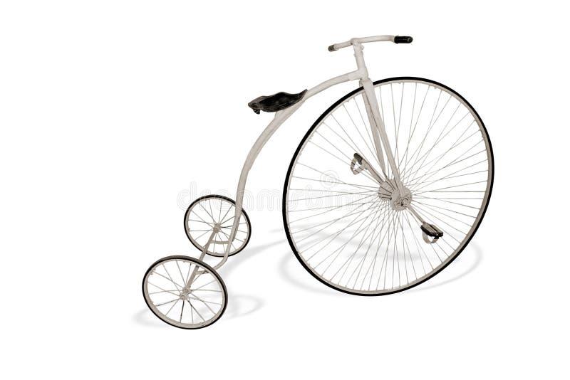 Retro bicycle stock photo