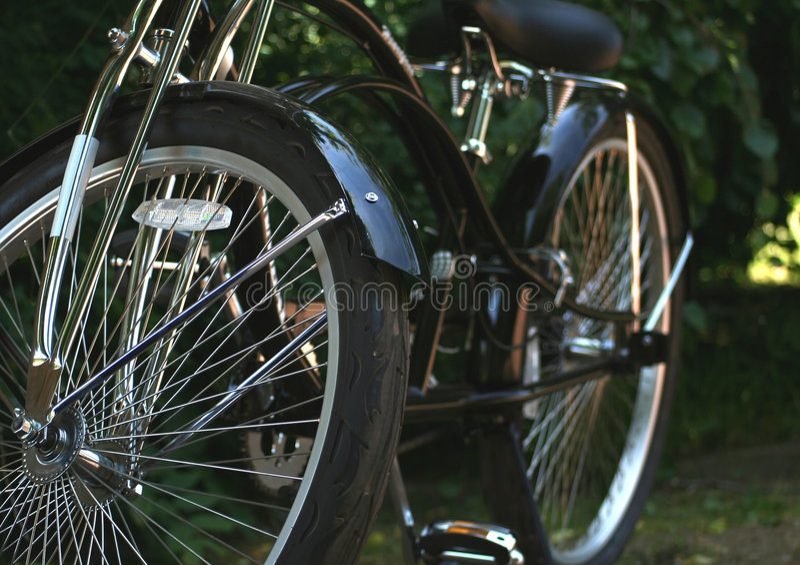 Retro bike royalty free stock images