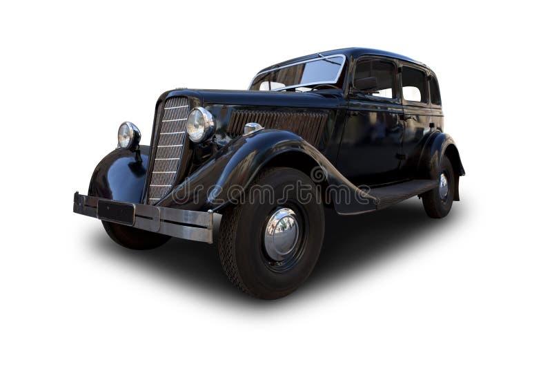 Retro bil. arkivbild