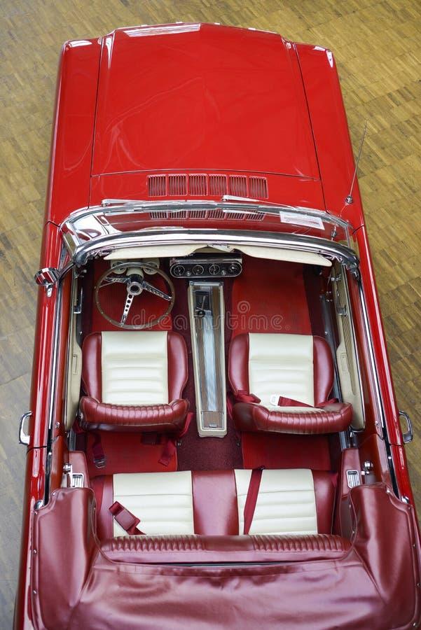 retro bil arkivbilder