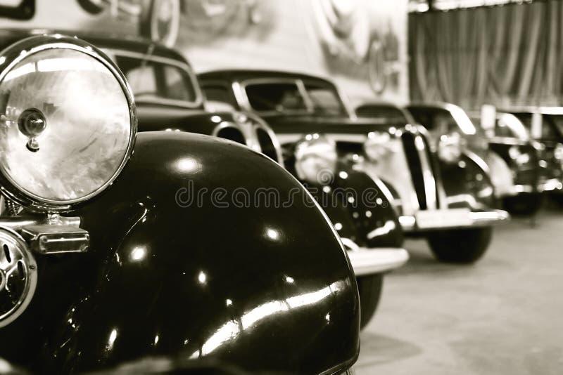 retro bilar royaltyfria bilder