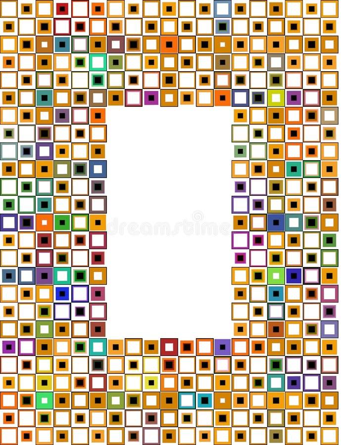 Retro blok vector illustratie